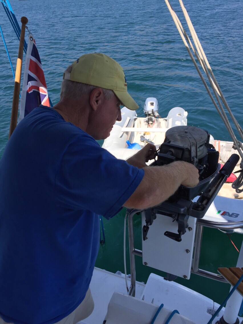 Fixing boats in Paradise – Living and sailing in the Sea of